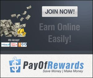 It's Your Time. It's Your Money. Take Control. Get benefited by just 5 min work daily! PayofRewards