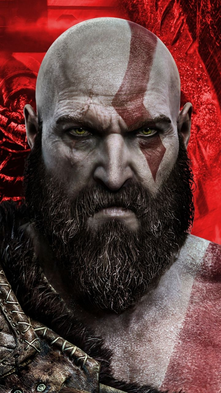 Download 720x1280 Wallpaper Kratos Artwork God Of War Samsung Galaxy Mini S3 S5 Neo Alpha Sony Xperia Compact Z Kratos God Of War God Of War War Artwork