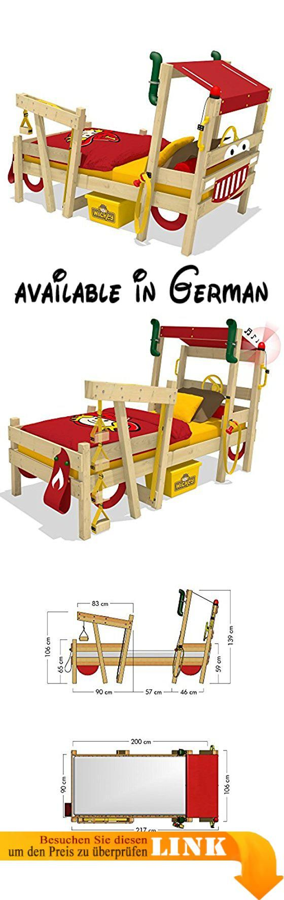 Aufbauanleitung Feuerwehrbett