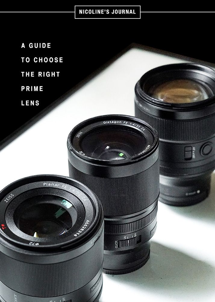 Getting the Right Prime Lens: 35, 55, or 85mm?