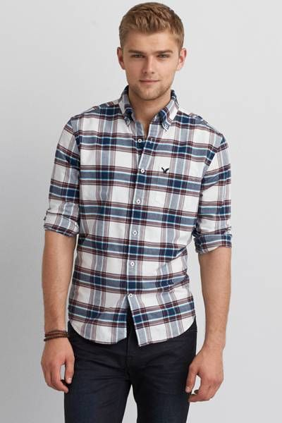 58 best Plaid shirt images on Pinterest | Plaid shirts, Aeo and ...