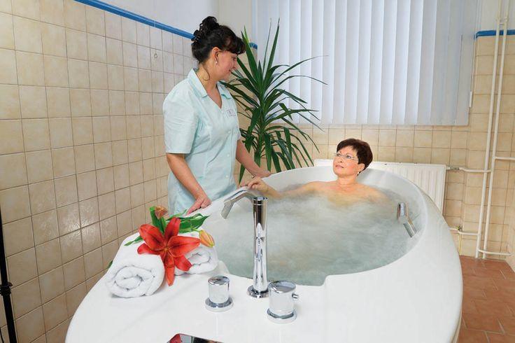 terapeutické oddělení / uhličitá koupel
