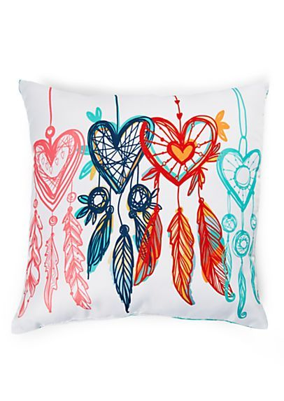 Heart Dreamcatcher Pillow | rue21