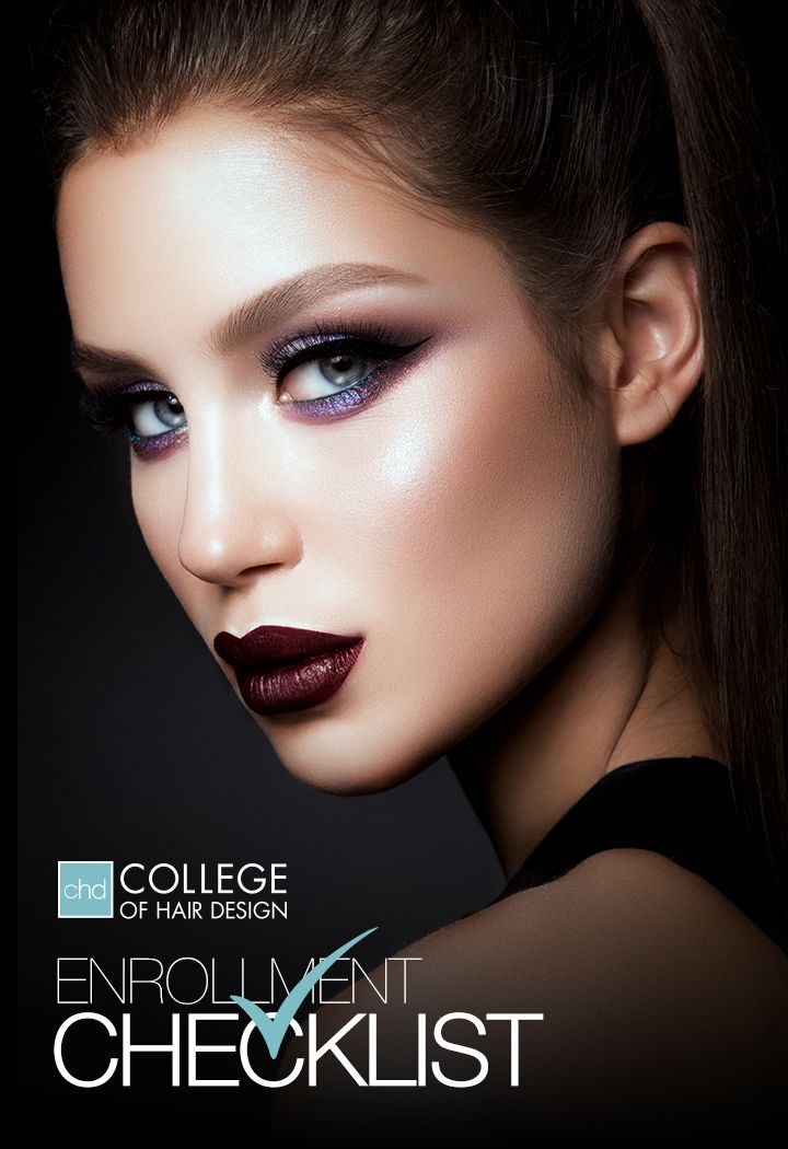 "Are you about to join the beauty industry by going to beauty school? Congratulations, you're going to LOVE IT! We've created a ""Beauty School Enrollment Checklist"" to help make getting started a tiny bit easier. Get it here -----> https://collegeofhairdesign.com/beauty-school-enrollment-checklist/"