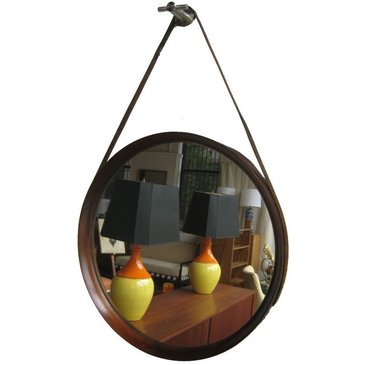 Jacques Adnet Mirror: Add Something Masculine