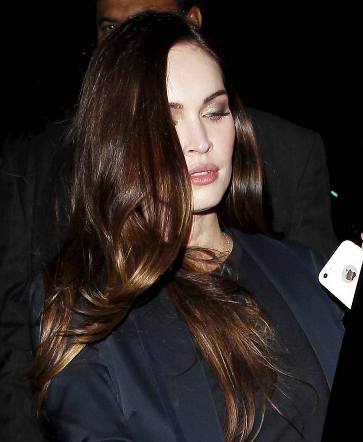 Megan Fox -- hair color inspo?