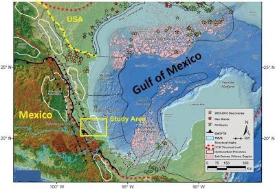 New evidence about the Gulf of Mexico's past #Geology #GeologyPage