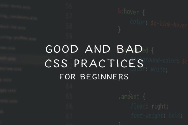 Writing clean, manageable CSS is a healthy habit to develop to help make your stylesheets easier to maintain as your web design project progresses.