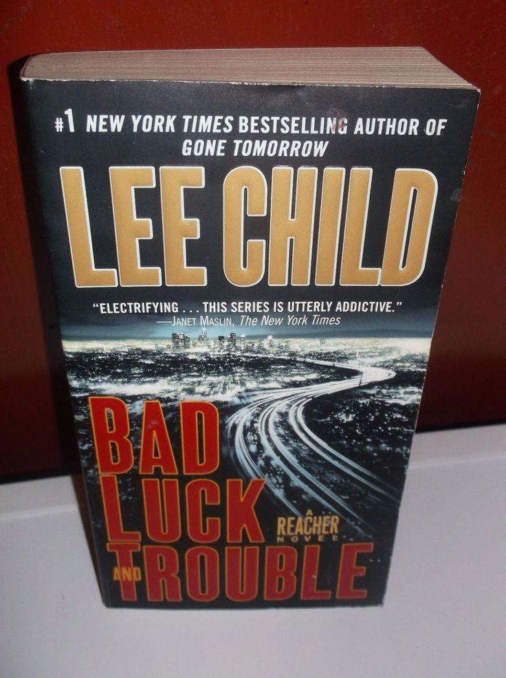 Bad Luck And Trouble A Reacher Novel Lee Child Paperback New
