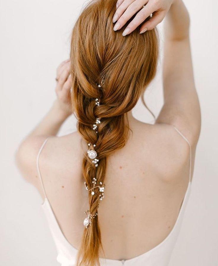 Wie man eine Haarrebe trägt – Wedding ❤ inspiration