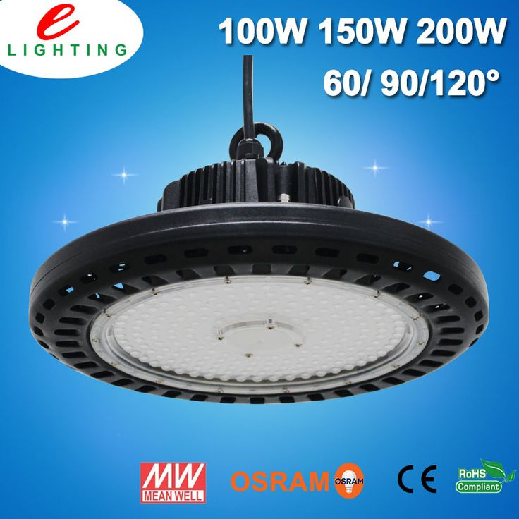 bestelighting.com We are factory and has 8 years experience in led light,UFO led high bay light is our new design high bay light,Osram chip and MeanWell driver.