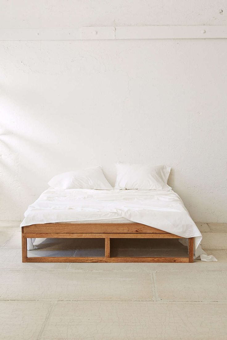 1000 ideas about diy bed frame on pinterest diy bed for Simple diy platform bed