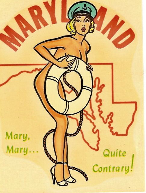 "Maryland  The official motto of Maryland is the Italian motto of the Calvert family - ""Fatti maschil, Parole femine"" (Manly deeds, Womanly words"")  #Maryland"