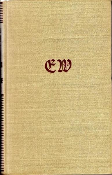Buch, Ehm Welk, Die Heiden von Kummerow, Jahr 1954Versand: 3,00 €, Büchersendung, Deutsche PostAbholung in der Cautiusstraße, 13587 Berlin nach Absprache möglich.