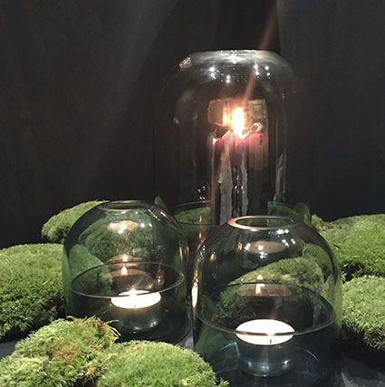 AYTM Tota lantern and tealight holders