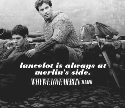 I wish more attention was given to Lancelot and Gwaine's friendships with Merlin.