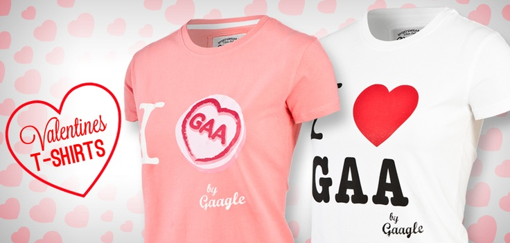 The perfect valentines gift for the gaa fan in your life.  oneills.com