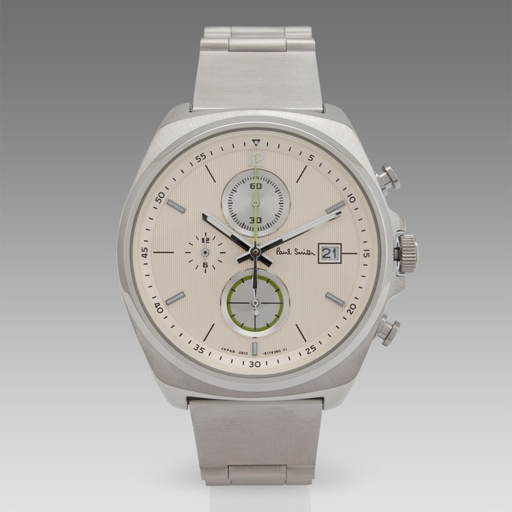 Paul Smith Watches | Cream Five Eyes Chronograph Watch 폴 스미스 시계 라인은 몇 개의 시티 시리즈를 제외하면 괜찮은 모델이 별로 없었는데, 이번에 새로 나온 파이브 아이즈 크로노는 꽤 괜찮습니다.