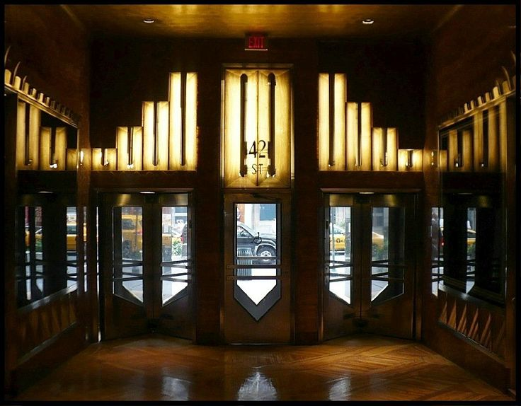 17 best images about nyc art deco on pinterest wall for Famous art deco interior design