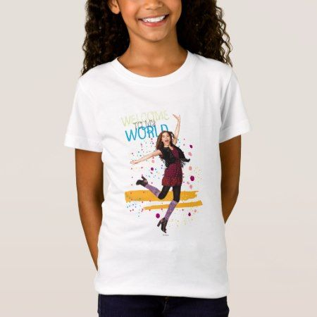 Welcome to My World T-Shirt - click/tap to personalize and buy