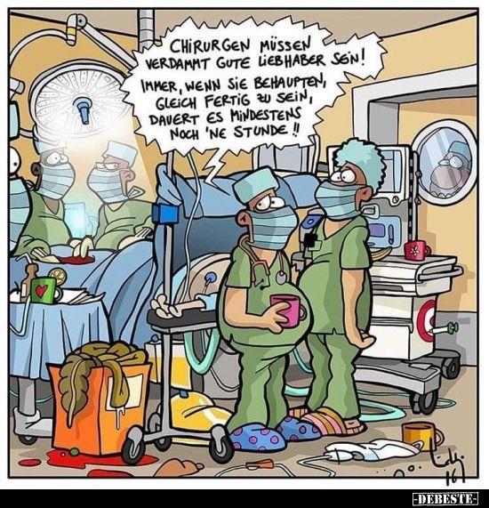 Chirurgen müssen verdammt gute Liebhaber sein!.. in 2020
