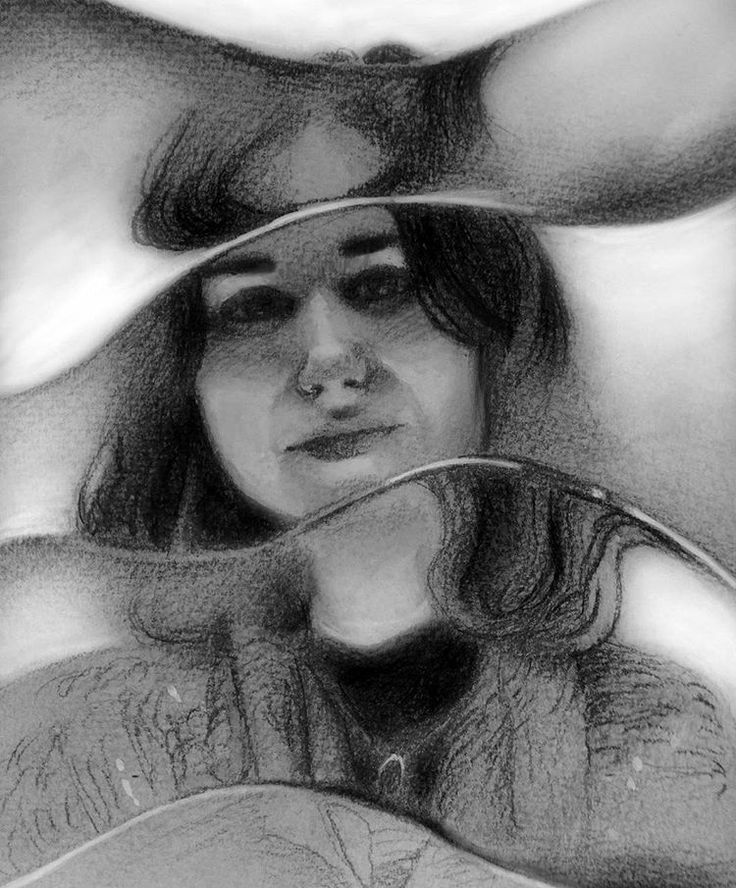 "Yesterday we visited ""The radical eye"" at #TateModern. At the outside, we played a bit with the booth with the distorted glass filters  This is a copy of a pic my boyfriend took of me   Graphite, black colored pencil, and digital  #modernistme #selfportrait #art #drawing #painting #artist #artwork #instamood #instartist #instaart #sketch #sketchbook #instagood #artistoninstagram #pencil #graphite #graphitedrawing  #vintage #portrait #portraitdrawing #portraiture #graphiteonpaper #pencildr..."