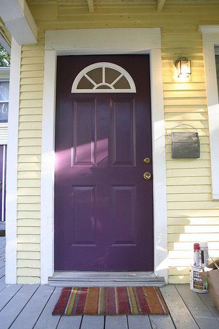 Google Image Result for http://www.shelterness.com/pictures/purple-front-door-design-6.jpg