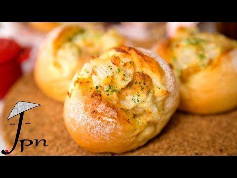 Receita de pão recheado com maionese, atum e cebola - YouTube