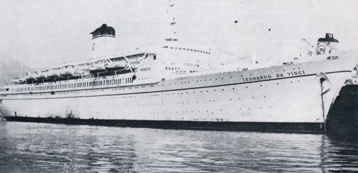 1000 images about 1960 1978 ocean liner leonardo da for Liner piscine 3 60 x 0 90