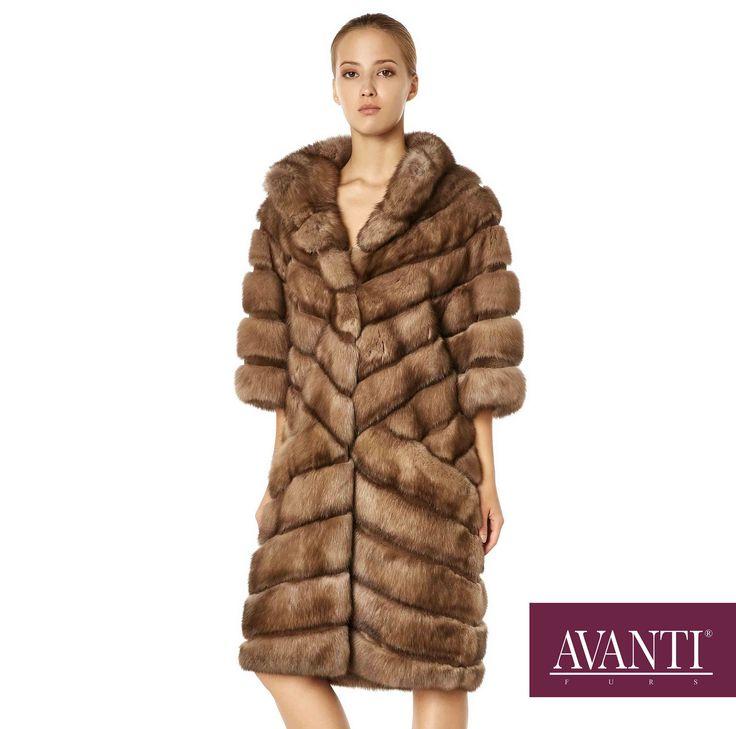 AVANTI FURS - MODEL: BOZENA SABLE JACKET with Mink Silk details #avantifurs #fur #fashion #fox #luxury #musthave #мех #шуба #стиль #норка #зима #красота #мода #topfurexperts