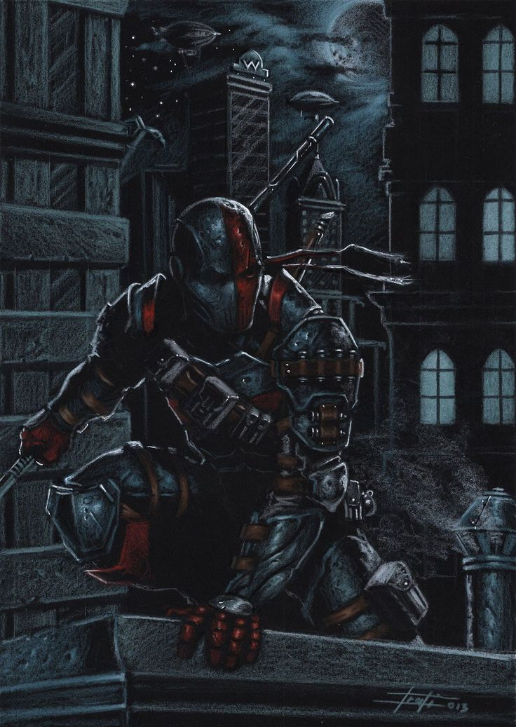 Deathstroke the Terminator by Luca Strati