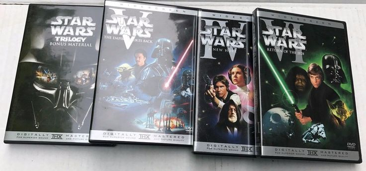 Star Wars 6 Dvd Box Set