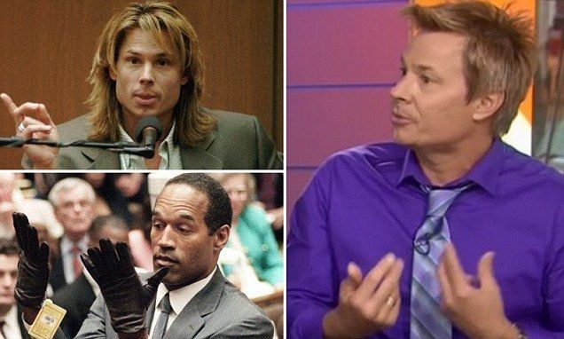 Kato Kaelin (pictured) spoke today along with the father and sister of Ron Goldman, who was found stabbed to death along with OJ Simpson's ex-wife Nicole at her LA home on June 12, 1994.