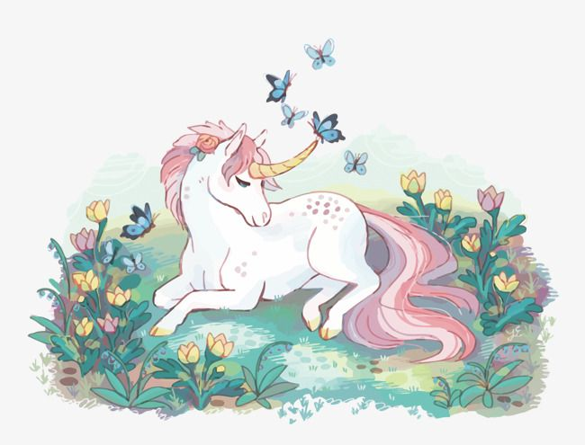 Vetor Bonito Do Unicornio Pastel Watercolor French Images Illustration
