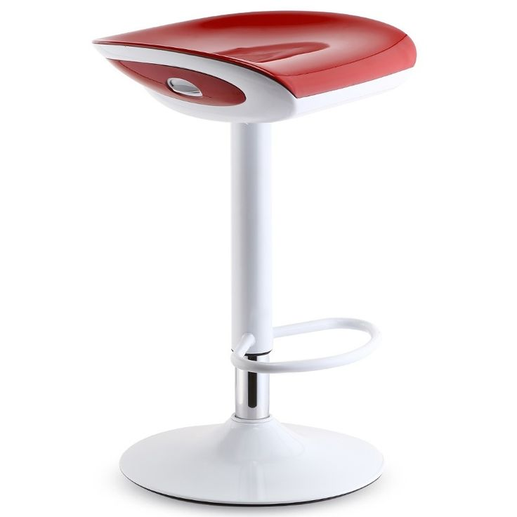 Bathroom chair red orange color free shipping Dressing table stool retail wholesale computer chair stool