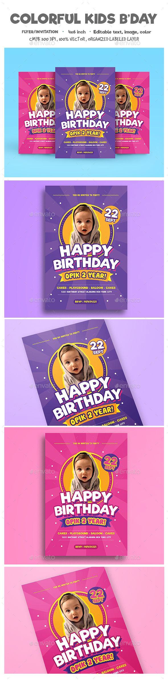 birthday flyers invitations