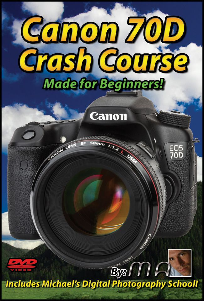 Canon 70D Crash Course: Made for Beginners!
