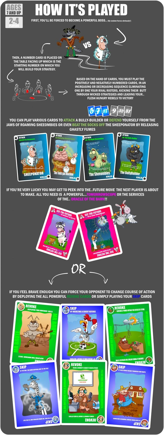 Who's Boss. Animal Riots: The CARD GAME by Konstantinos Liantis — Kickstarter