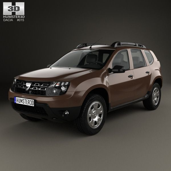 Dacia Duster 2015 3d Model From Humster3d Price 75