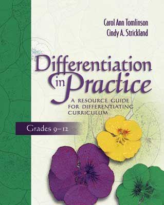 carol ann tomlinson differentiated instruction