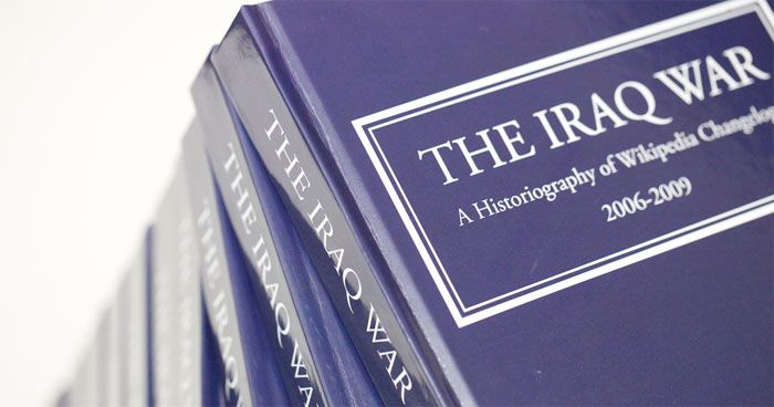 Historiography, Wikipedia, and the Iraq War.