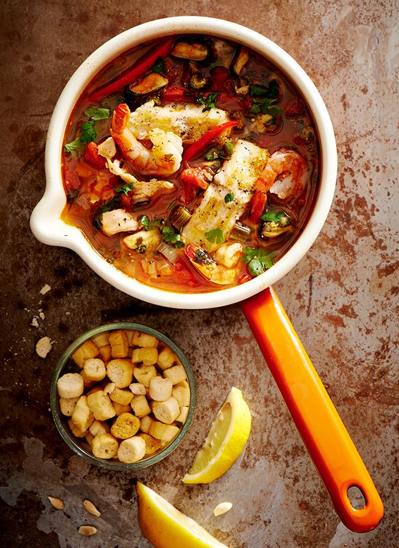 Cioppino fish soup