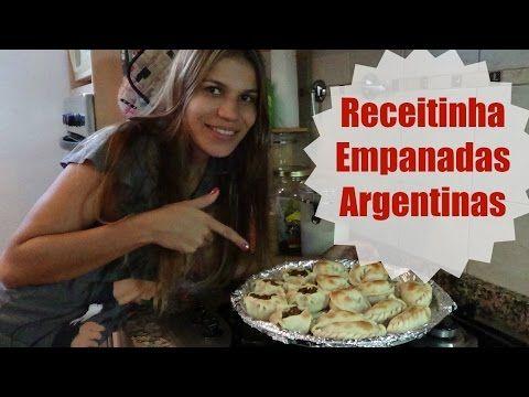 Receita empanadas Argentinas | ModaByNill - YouTube