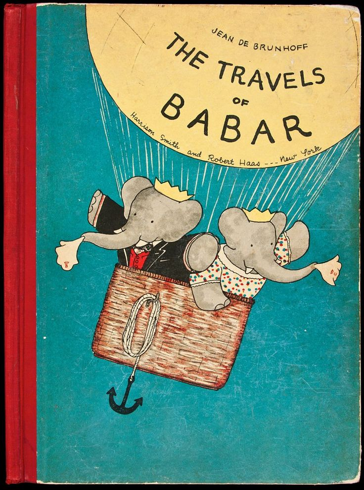 The Travels of Babar, first edition, 1934