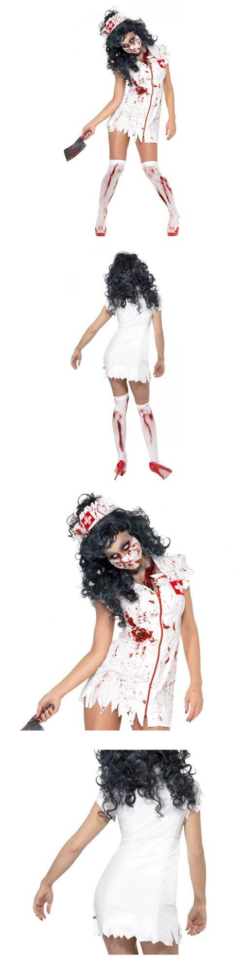 Halloween Costumes Women: Zombie Nurse Costume Halloween Fancy Dress -> BUY IT NOW ONLY: $31.69 on eBay!