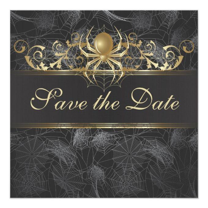 2174 best Halloween Wedding Invitations images – Halloween Wedding Save the Dates