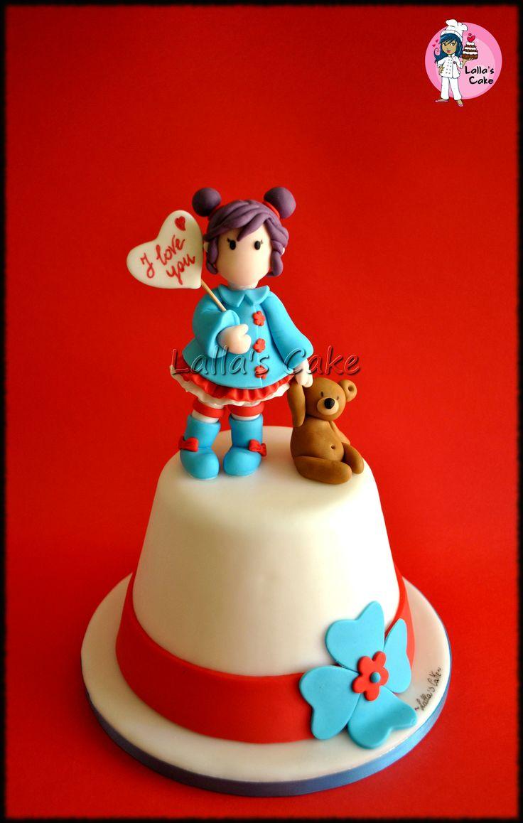 Images Of I Love U Cake : 49 fantastiche immagini su Cakes & decorations - CAKE ...