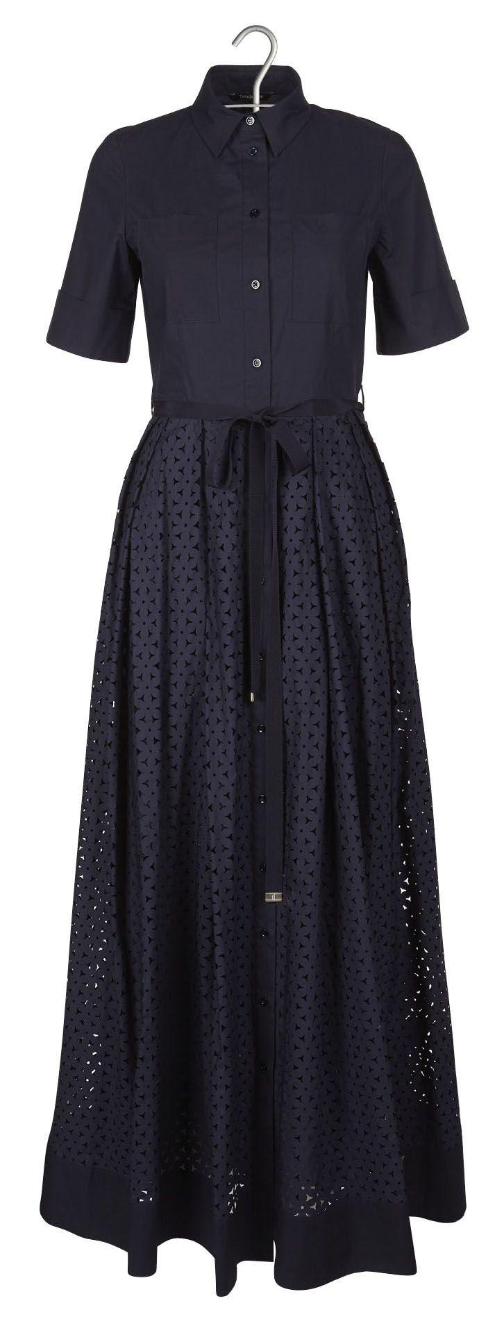 Robe chemise longue Bleu by TARA JARMON
