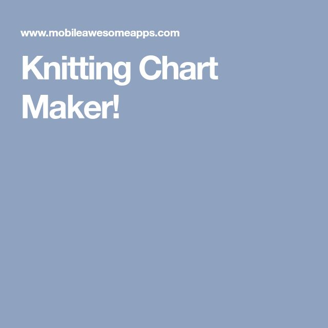 Best 25+ Chart maker ideas on Pinterest   DIY knitting chart, Line ...