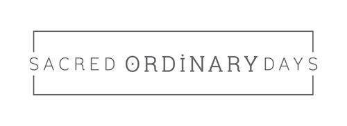 how to contact Sacred Ordinary Days, where to connect with us on social media, how to join our tribe, and where to send us snail mail or visit for tea time...